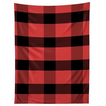 Allyson Johnson Winter Plaid Tapestry