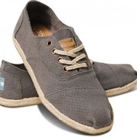 Grey Suede Women's Cordones