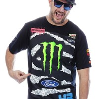 Hoonigan Monster Black Monster Ken Block Rally Division Official Team T-Shirt | Hoonigan Monster | FreestyleXtreme Canada