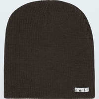 Neff Daily Beanie Charcoal One Size For Men 15726511001