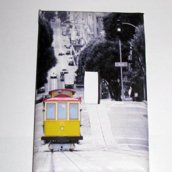 Light Switch Cover - Light Switch Plate Vintage San Francisco Cable Car California