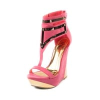 Womens Shi by Journeys Robotika Wedge, Coral | Journeys Shoes