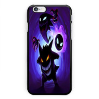 Pokemon Nintendo Gengar Haunter Gastly Hard Plastic Case For iPhone 6s 6s plus