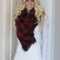 Ultra Chic Blanket Scarf
