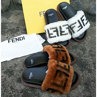 Fendi Women Fashion Casual Slipper Shoes