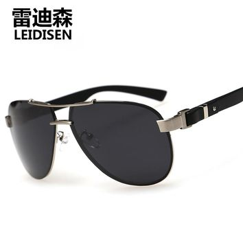 2016 New Brand Fashion sun glasses Frog Mirror sunglasses men sunglass women brand designer LENDISEN driving sunglasses
