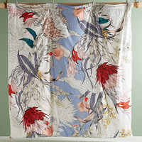 Longina Sketched Songbird Duvet Cover