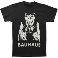 Bauhaus Men's  Gargoyle Slim Fit T-shirt Black Rockabilia