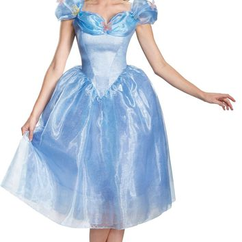 Cinderella Movie Adult Dx 8-10 Girls Women's Costume