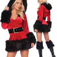 Women's Christmas Fancy Suit Costume Xmas Outfit = 4427561732