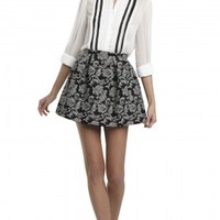 alice + olivia | ANNA SKIRT WITH POCKETS