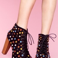 Jeffrey Campbell Lita Platform Boot - Bejeweled