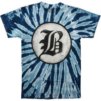 Beartooth Men's  B Logo Tie Dye T-shirt Multi