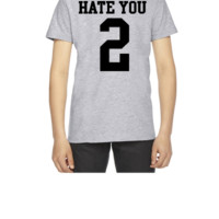 Hate You 2 Jersey - Youth T-shirt