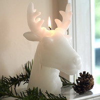 Moose Head Candle