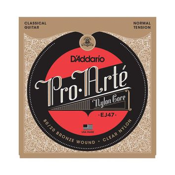 D'Addario Pro-Arté EJ47 80/20 Bronze Nylon in Normal Tension