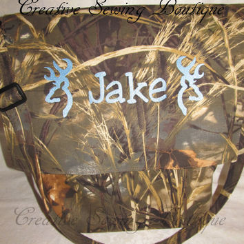 custom handamade max4 hd camo camouflage  diaper bag or tote your choice of name