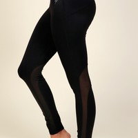 Get The MESHage Leggings Black
