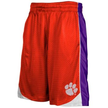 Clemson Tigers Youth Orange Vector Workout Shorts - http://www.shareasale.com/m-pr.cfm?merchantID=7124&userID=1042934&productID=544539234 / Clemson Tigers