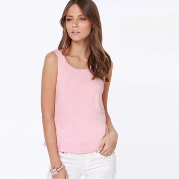Women's Fashion Spring Summer Blouse Sexy Tops Designer Casual Shirts Vest With Bow