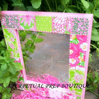 Lilly Pulitzer Print Extra Large Mirror - Perfectly Preppy