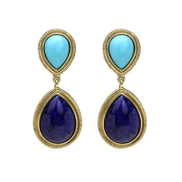 St. Tropez Double Drop Earrings