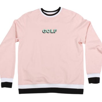 GOLF CREWNECK PEACH