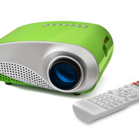 FAVI LED Movie and Game Projector for Kids - Green (RioHD-LED-K1-GR)