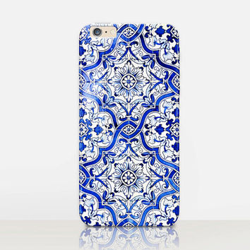 Moroccan Tile Phone Case  - iPhone 6 Case - iPhone 5 Case - iPhone 4 Case - Samsung S4 Case - iPhone 5C - Tough Case - Matte Case