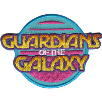 Guardians Of The Galaxy Iron-On Patch Round Letters Logo