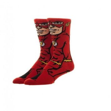 DC Comics Flash 360 Crew Socks