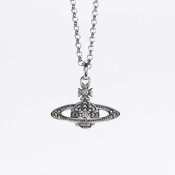 Vivienne Westwood Mini Bas Relief Pendant Necklace - Urban Outfitters