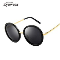 BOUTIQUE New Vintage Retro Steampunk Men Sunglasses Round Circle Women Sunglasses Round Glasses For Women