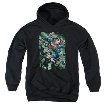 Superman - Indestructible Youth Pull Over Hoodie