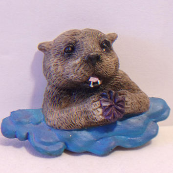 Sea Otter Refrigerator Magnet Vacation Souvenir Kitchen Home Decor