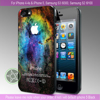 Galaxy Nebula Space - iPhone 4 / iPhone 4S / iPhone 5 / Samsung S2 / Samsung S3 / Samsung S4 Case Cover