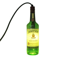 Jameson Whiskey Hanging Liquor Bottle Pendant Lamp Light - Bottle Heaven