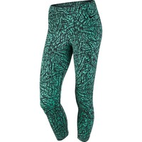 Nike Club Printed Cropped Workout Leggings - Women's, Size: