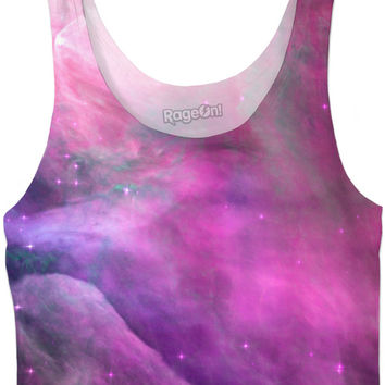 Pink Orion Nebula | Universe Galaxy Nebula Star Space Clothes | Rave & Festival Shirt