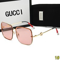 GUCCI Popular Ladies Delicate Summer Style Sun Shades Eyeglasses Glasses Sunglasses 1#