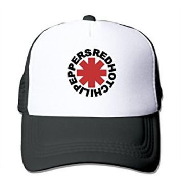 Unisex Cap Black RED HOT CHILI PEPPERS RHCP Bruno Mars Trucker Hat Cool Hat