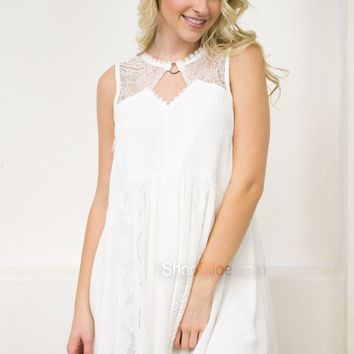 Save The Date Lace Dress