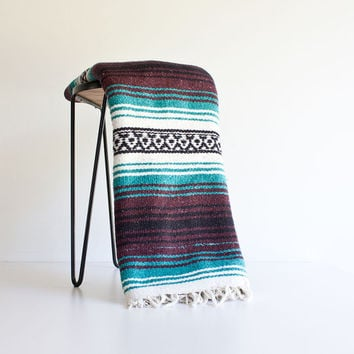 Superb video!! vintage mexican blanket kommt