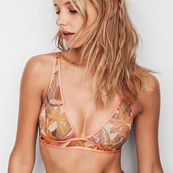 Mesh Plunge Bralette - The Bralette Collection - Victoria's Secret