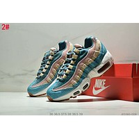 Nike Air Max 95 New Popular Women Air Cushion Running Sport Shoes Sneakers 2#