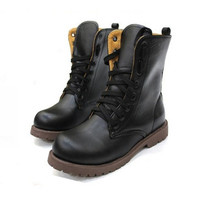 8-Hole Martin Punk Boots Tendon At The End(1020D)