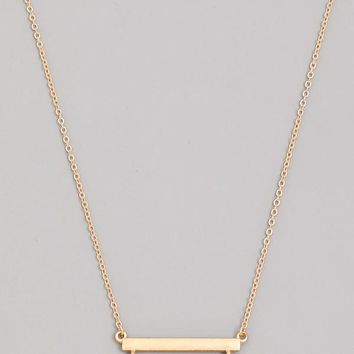 Find Your Way Necklace - Taupe