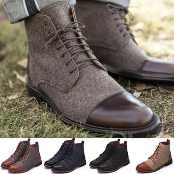 Men's Jack Boot In Brown Ankle Boots