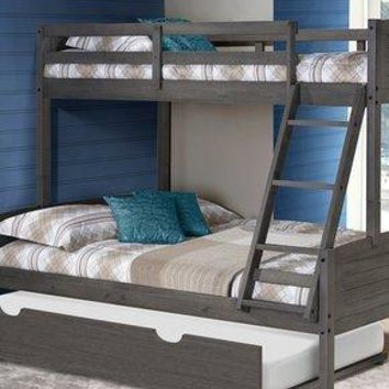 Madison Twin over Full Bunk Bed with Trundle