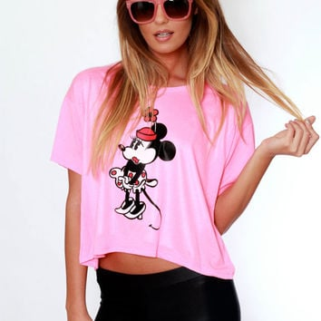 Vintage Minnie Mouse Tee / Disney